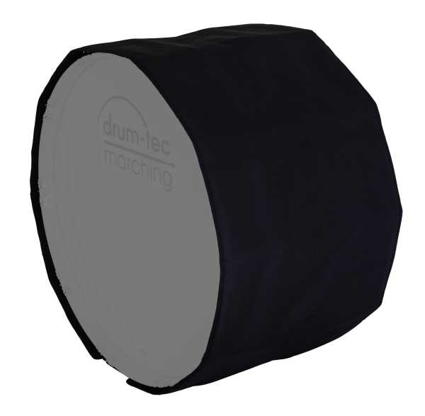 """Marching Bass Drum Cover/Abdeckung 24"""" x 14"""""""